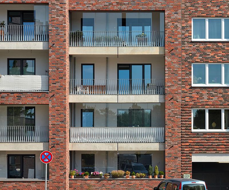 Balkonverglasung Othmarscher Höfe