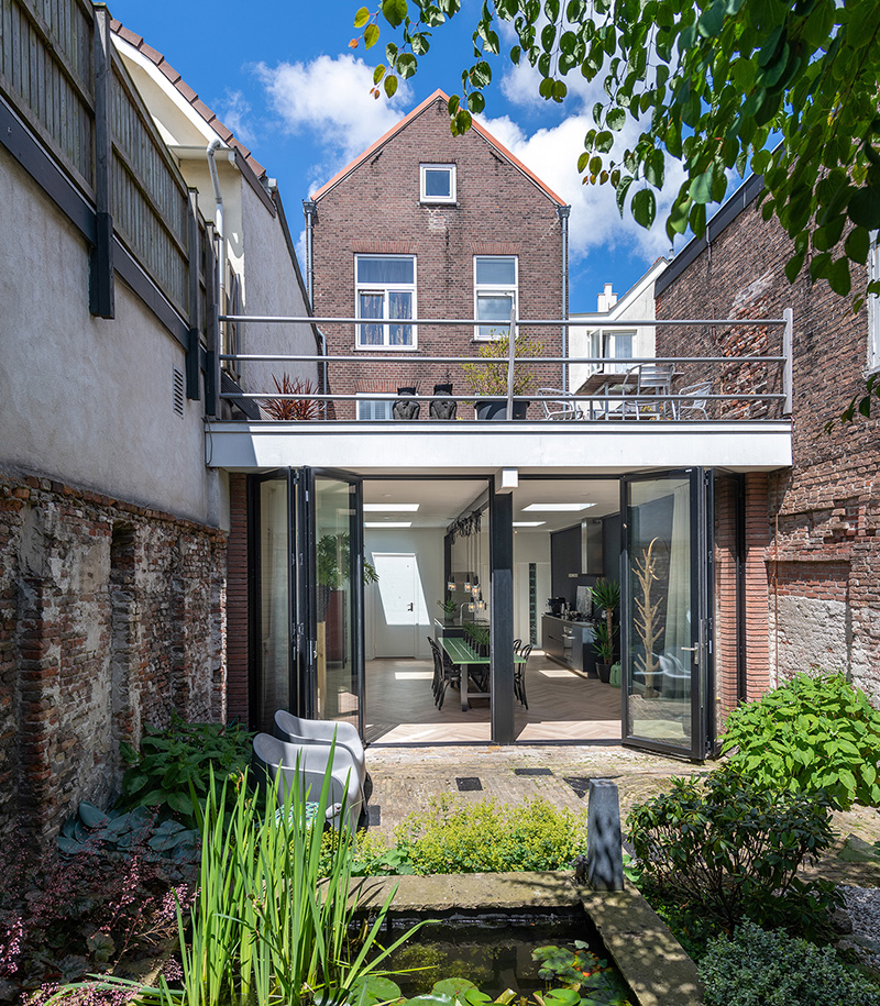 Solarlux Glas-Faltwand Haarlem