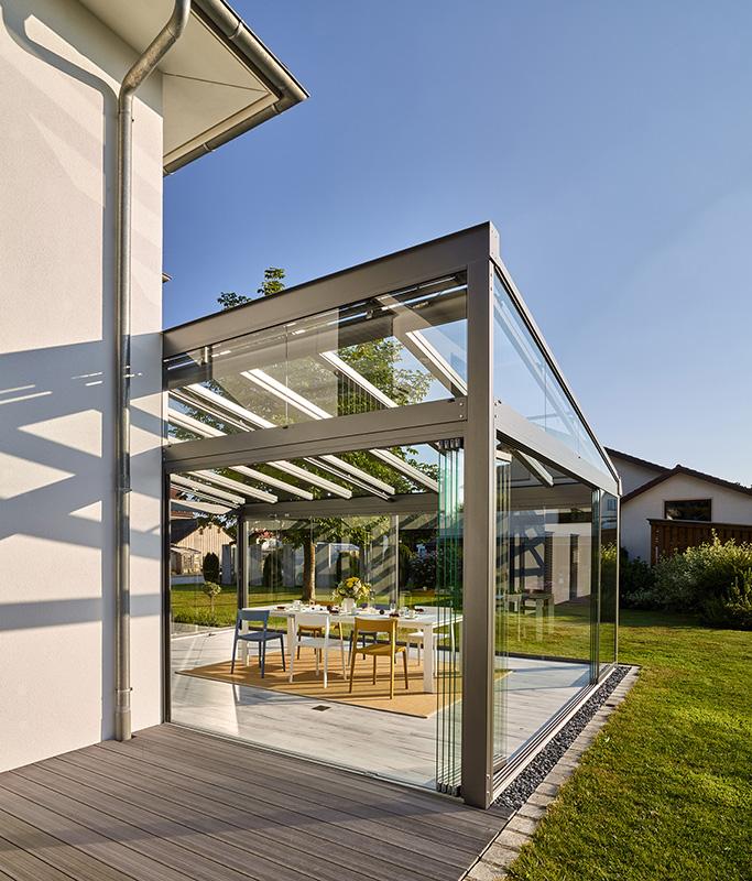 Solarlux Glashaus Unlingen