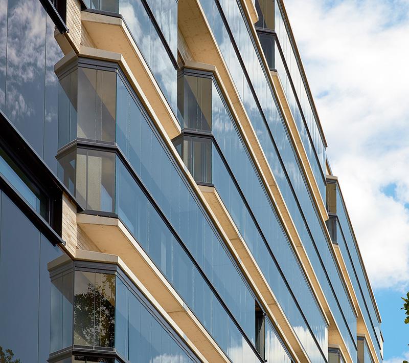 Solarlux Balkonverglasung SL Plus Detail