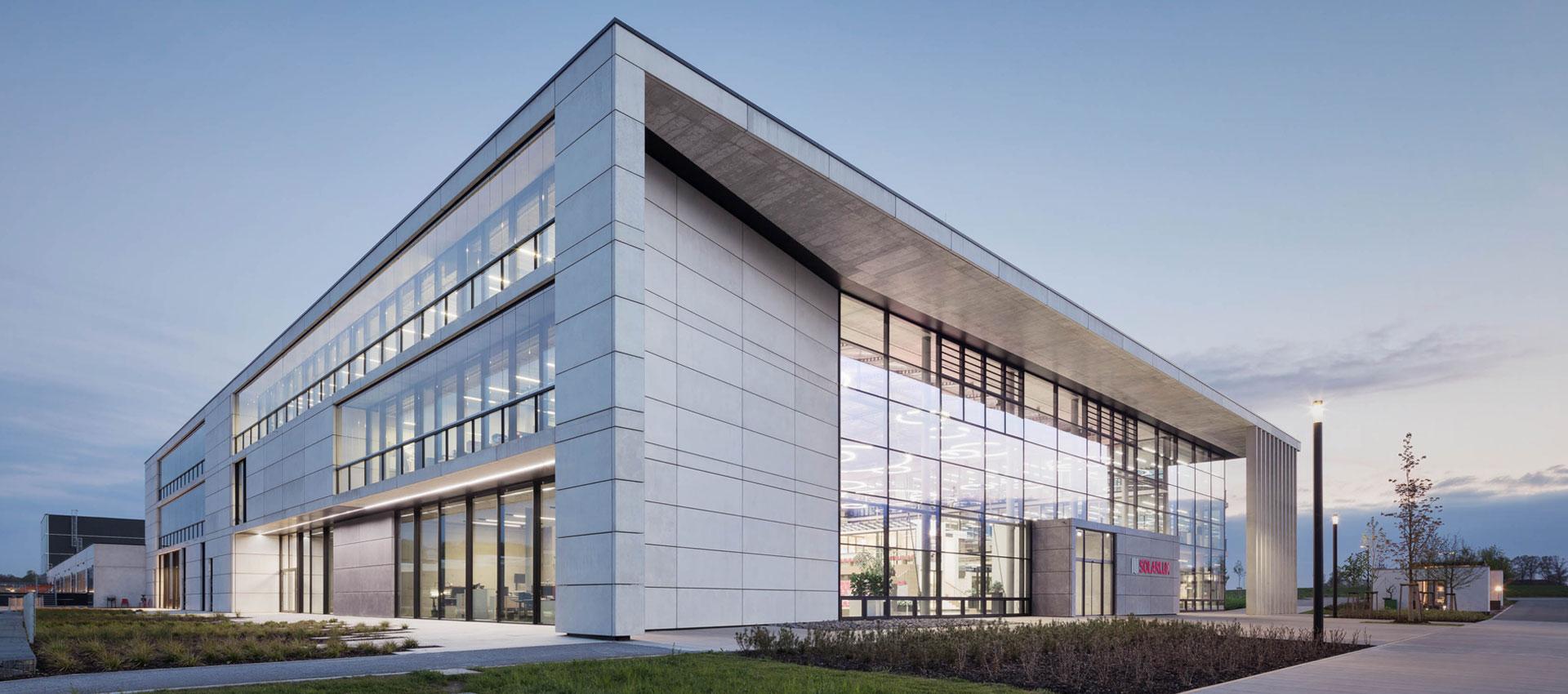 Solarlux Campus Melle