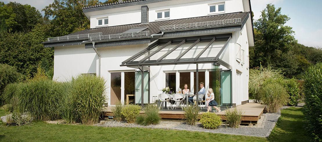 Terrassendach / Glashaus Vorteile von Solarlux