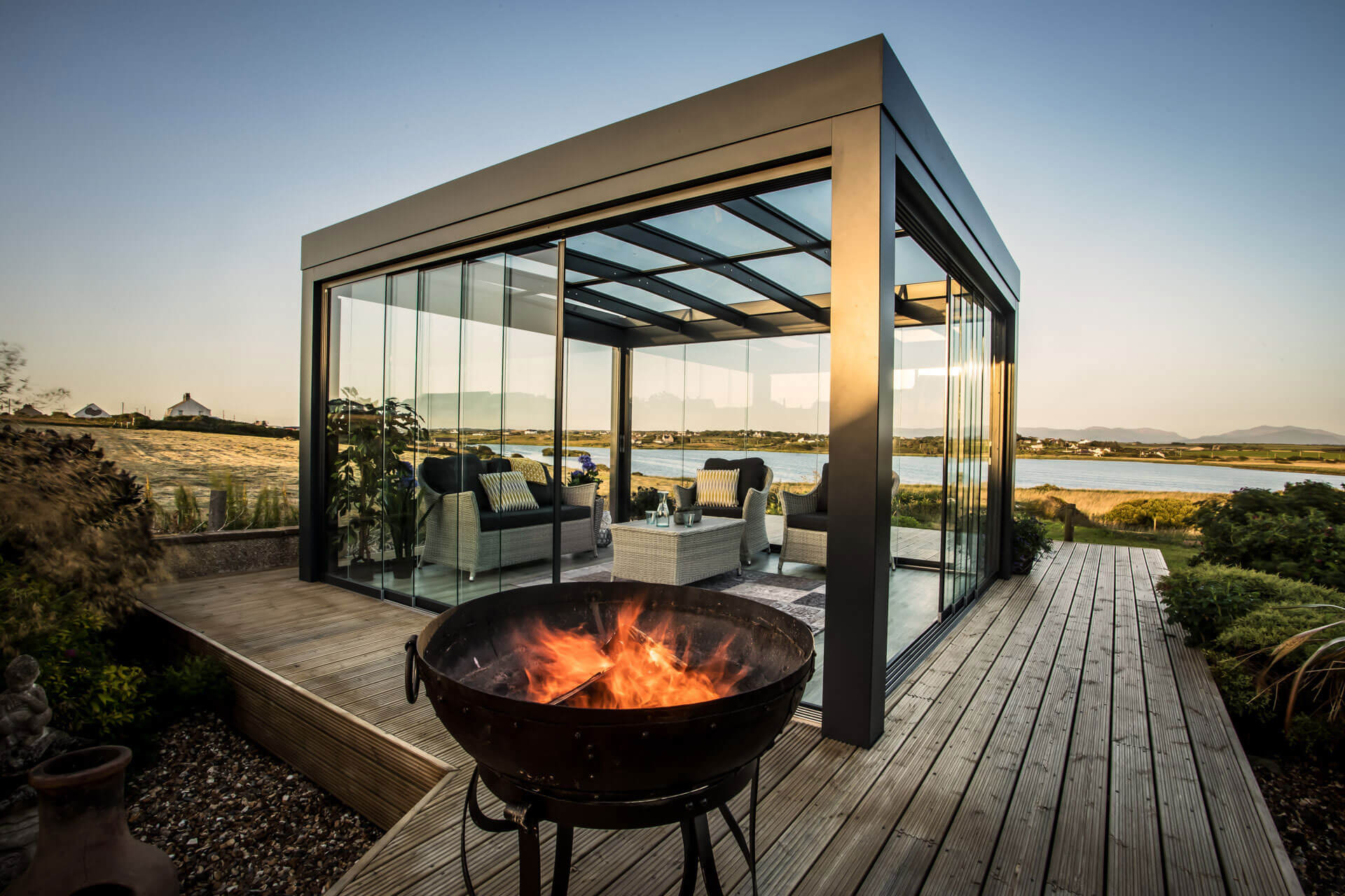 Solarlux Glass Canopy SDL Acubis