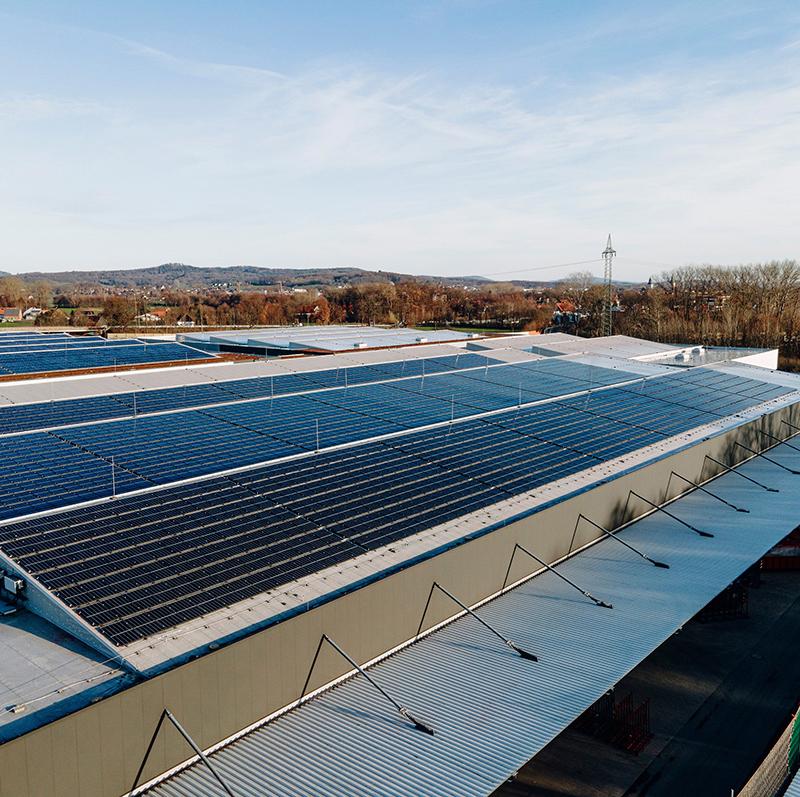 Solarlux setzt auf Nachhaltigkeit